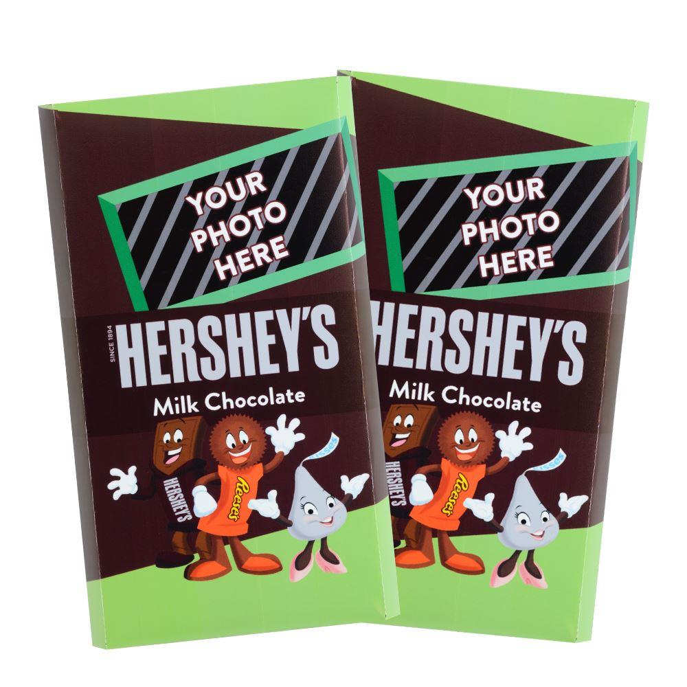 Characters Design<br>Personalized HERSHEY'S Giant Milk Chocolate Bar<br>(2 pack)