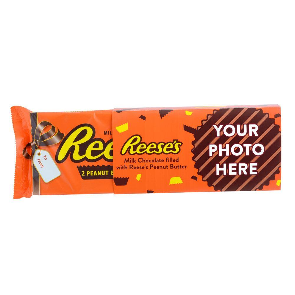 Confetti Design<br>Personalized World's Largest 1 lb. REESE'S Peanut Butter Cups