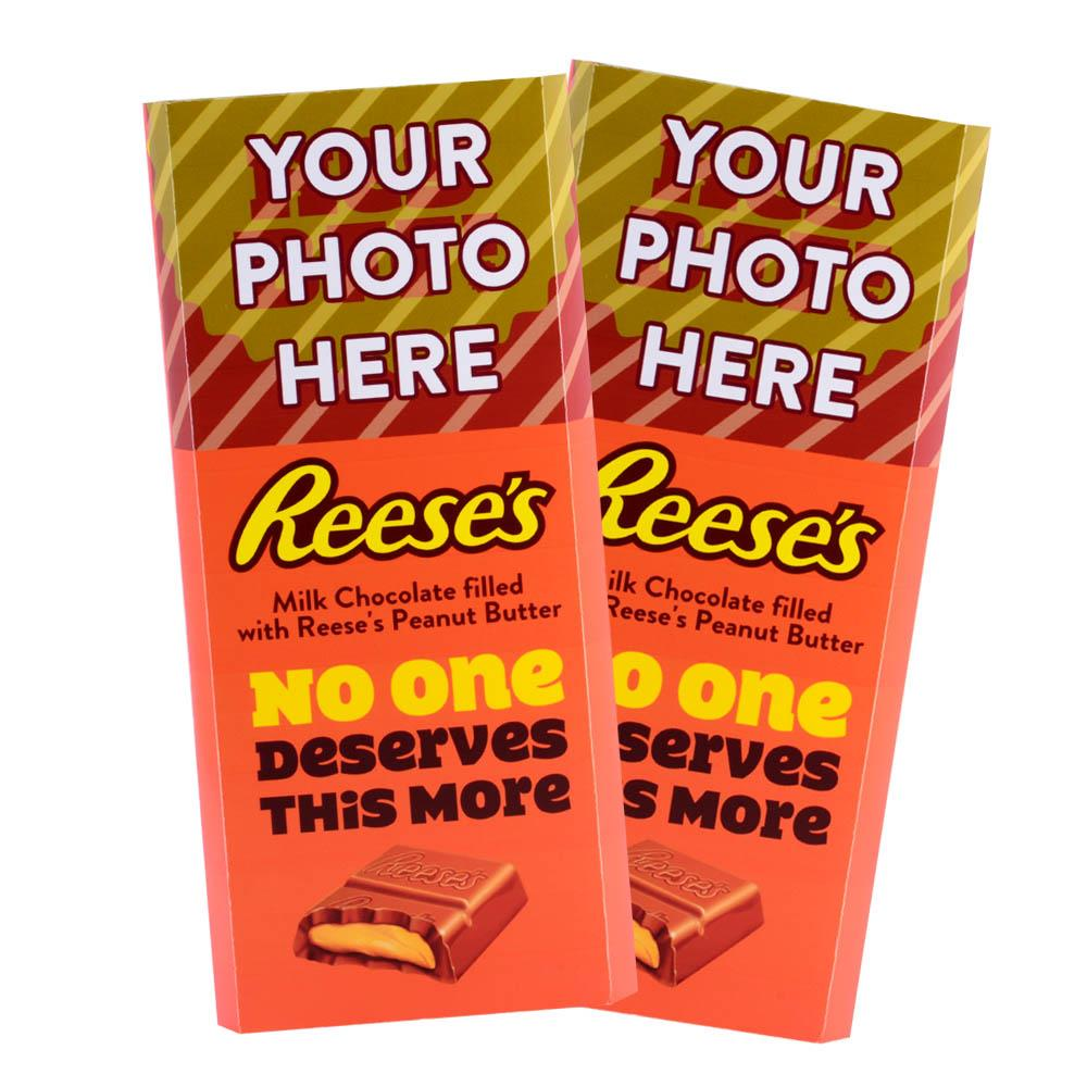 BFF Design<br>Personalized REESE'S Giant Peanut Butter Filled Bars<br>(2 Pack)