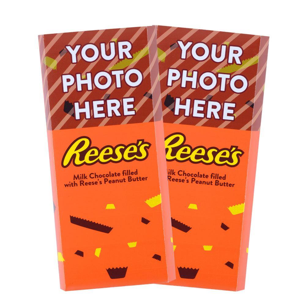 Confetti Design<br>Personalized REESE'S Giant Peanut Butter Filled Bars<br>(2 Pack)