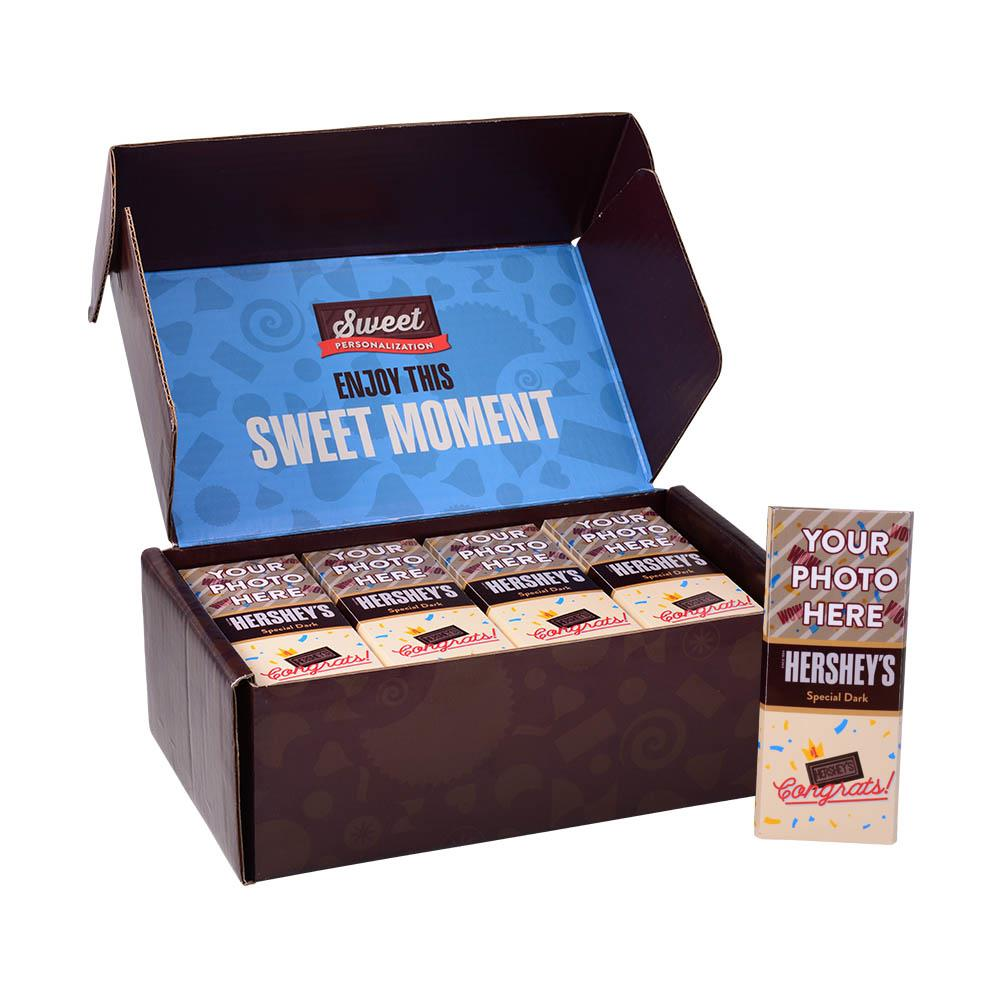 Congrats Design<br>Personalized HERSHEY'S 1.45oz Special Dark Candy Bar<br>(36 pack)